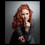 Portrait rothaarige frau - DH Fotoart.ch für Spezielles